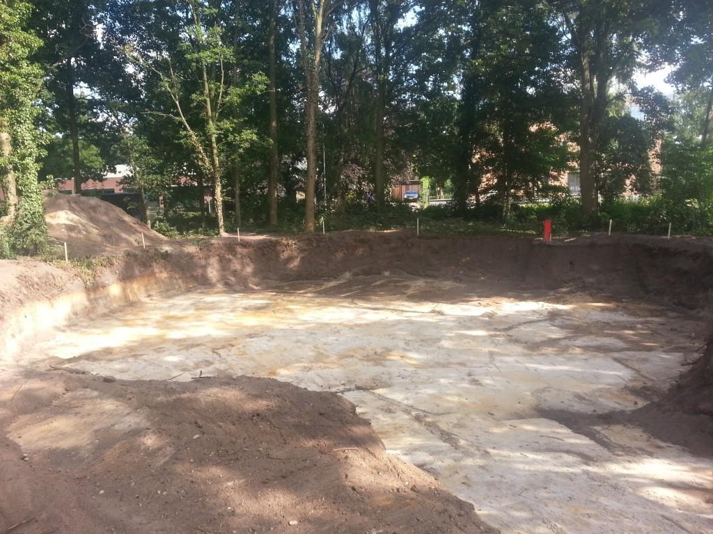 ontgraving-teelaarde-gereed