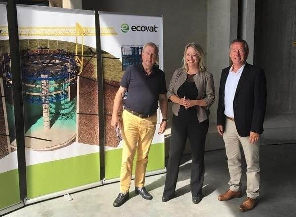Bezoek politici aan Ecovat productielocatie Oss